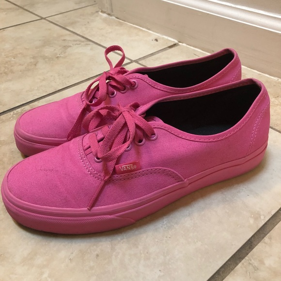 Hot Pink Vans Sneakers. M 5bf865dd4ab6330e33cad06e abab91ebfef1